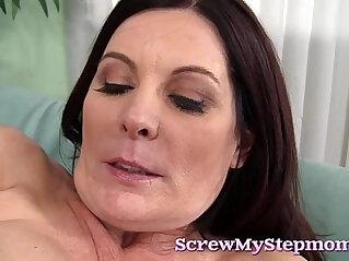 Cock starving Stepmom Ginger Ford