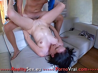 French Gros orgasmes une femme tres excitee