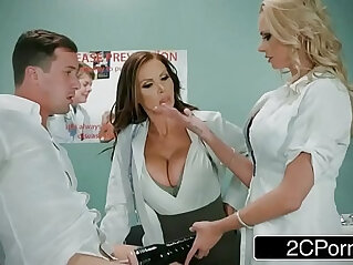 Dirty Threesome With Lucky Guy Nikki Benz, Briana Banks